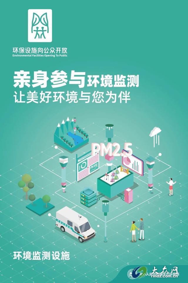 生态环境部发布全国环保设施向公众开放宣传海报和折页